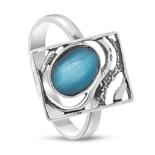 Дамски сребърен пръстен Лунна Нощ 1857
