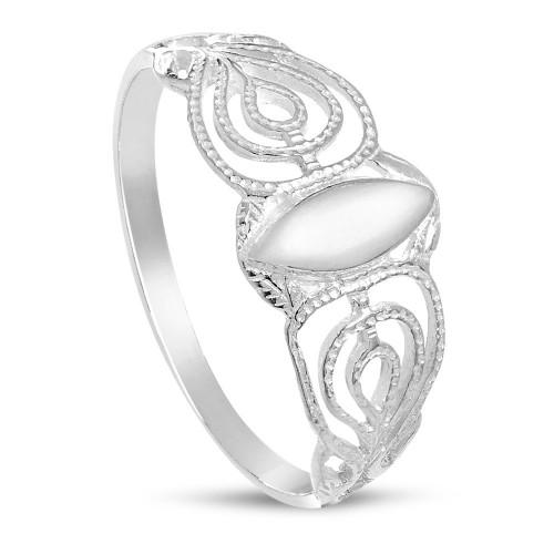 Дамски сребърен пръстен ретро модел 1849