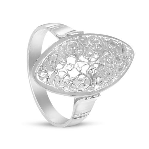 Дамски сребърен пръстен Бадем - Малък 1897