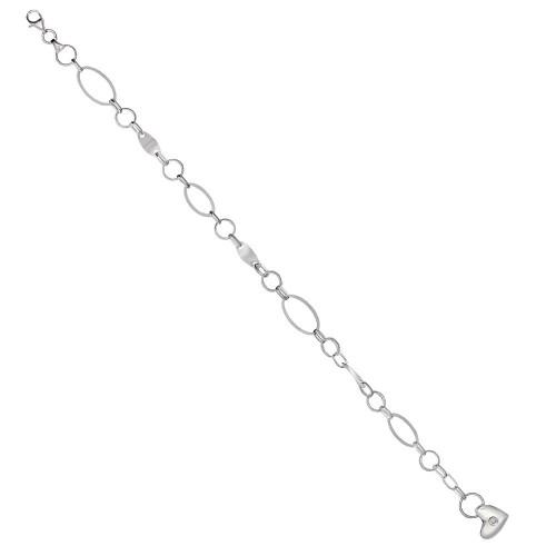 Дамска сребърна гривна Мирела Вертиго 3058