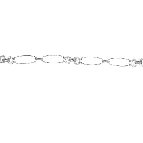 Дамска сребърна гривна 3759