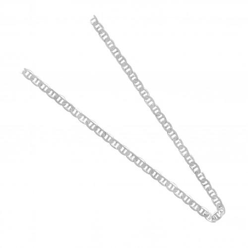 Сребърна верижка класическа плетка 4164
