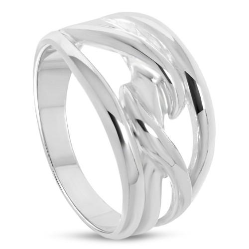 Дамски сребърен пръстен 4569