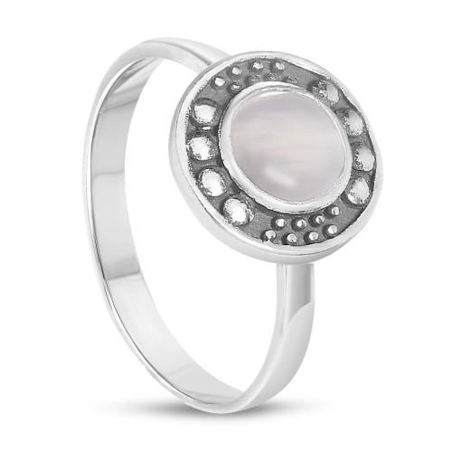 Дамски сребърен пръстен с лунен камък 2999