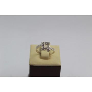 Дамски сребърен пръстен - Разкош 102