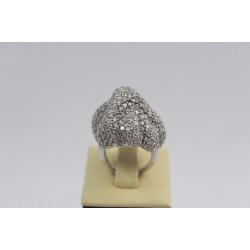 РАЗПРОДАЖБА -50% Сребърен пръстен Айсберг 108