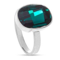 Сребърен дамски пръстен с кристали Swarovski Elements 1141