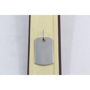 Дамски сребърен медальон плочка 1174
