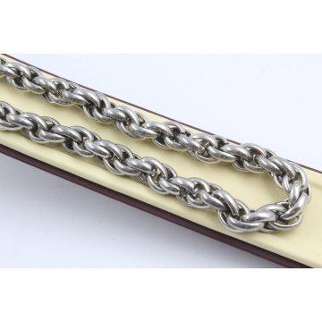 Стоманен ланец бяла стомана 1356