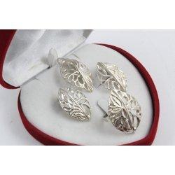 Дамски сребърен комплект Вулкан 1501
