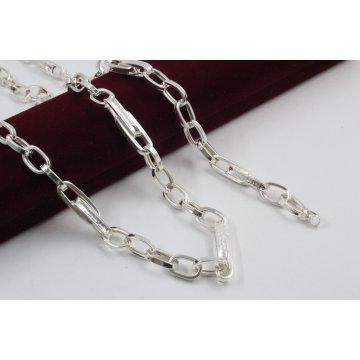 Дамски сребърен комплект Солун колие гривна 1638