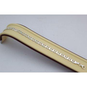 Сребърна гривна плетка Барлъ 1768