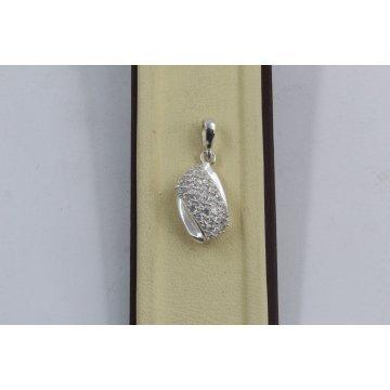 Дамски сребърен медальон Бонбон 1824