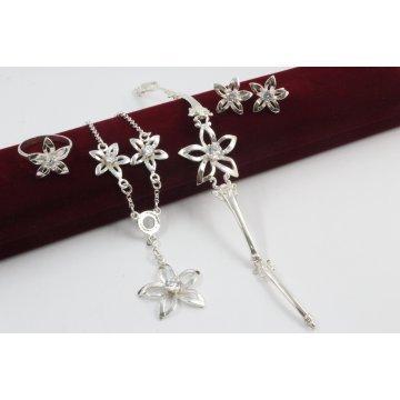 Дамски сребърен комплект - Кристална Прелест 1836