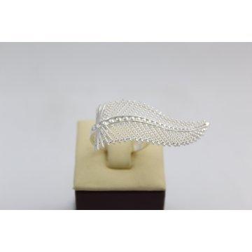 Дамски сребърен пръстен Перо 1857