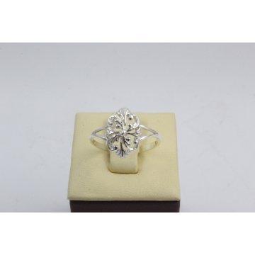 Дамски сребърен пръстен ретро модел 1875