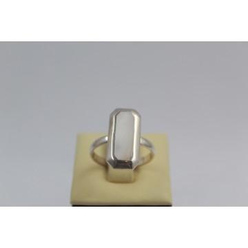 Дамски сребърен пръстен Седеф 1879