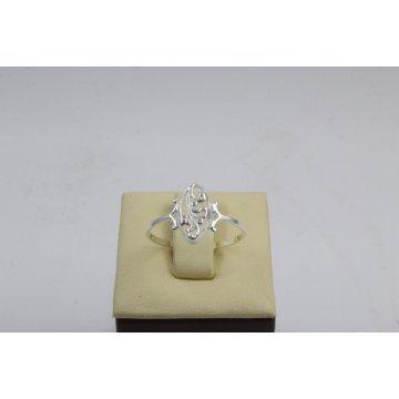 Дамски сребърен пръстен Бадем Мини ретро модел 1879