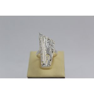 Дамски сребърен пръстен Пиано - Голямо 1894