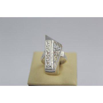Дамски сребърен ретро пръстен Пиано - Малко 1895