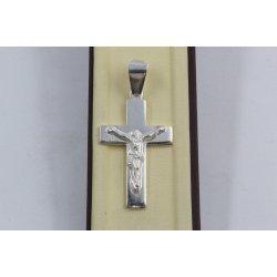Дамски сребърен медальон Кръст 1982