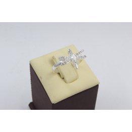 Дамски сребърен пръстен Водно Конче 2020