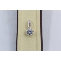 Дамски сребърен медальон Еделвайс 2023