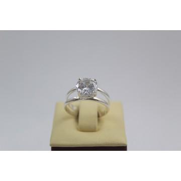 Дамски сребърен пръстен Криста 2028