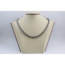 Дамска сребърна верижка тъмно сребро 2094