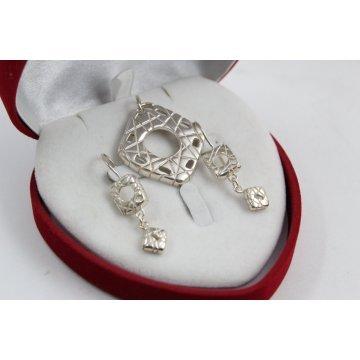 Дамски сребърен комплект Калинихта 2138