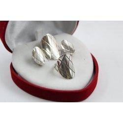 Дамски сребърен комплект Калинихта 2171