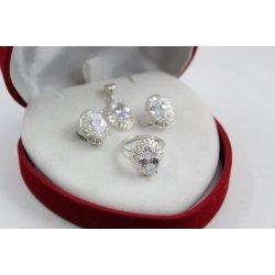 Дамски сребърен комплект Ретро 2230