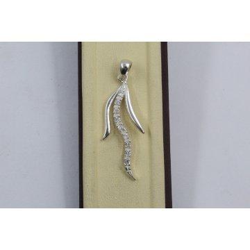 Дамски сребърен медальон Сребърни Лъчи 2233