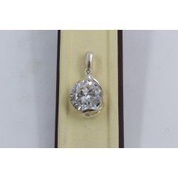 Дамски сребърен медальон Криста 2236
