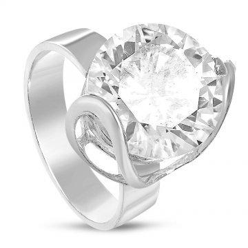 Дамски сребърен годежен пръстен Криста 2238