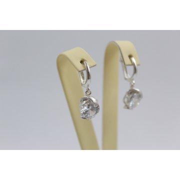 Дамски сребърни обеци Криста 2241