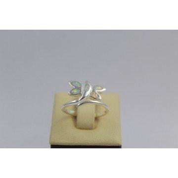 Дамски сребърен пръстен Водно Конче 2264