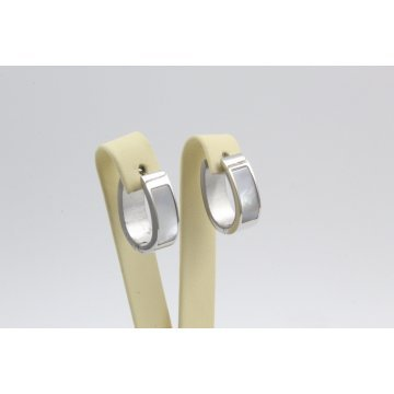 Дамски стоманени обеци бяла стомана 2314