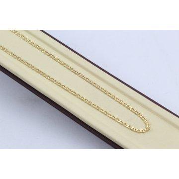 Златна верижка класическа плетка жълто злато 2386