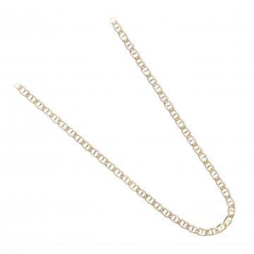 Златна фина верижка класическа плетка жълто злато 2386