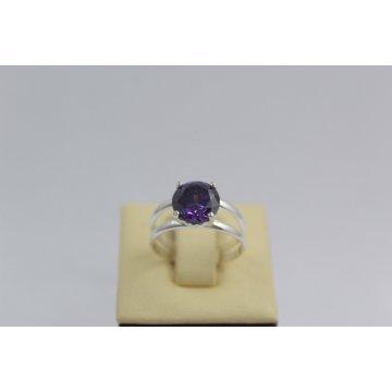 Дамски сребърен пръстен Криста Лила 2435