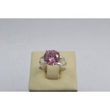 Дамски сребърен пръстен Криста Розов 2443