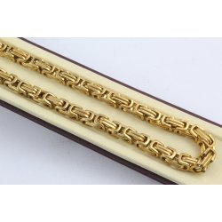 Стоманена верижка кралска плетка 2506