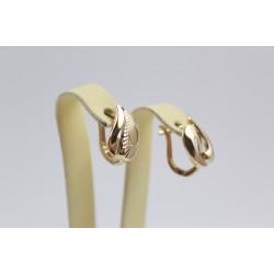 Дамски златни обеци жълто злато 2573