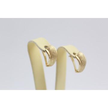 Дамски златни обеци жълто злато 2577