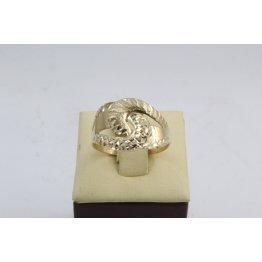 Дамски златен пръстен жълто злато 2627