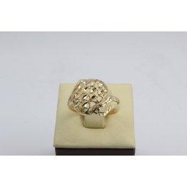 Дамски златен пръстен жълто злато 2634