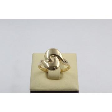Дамски златен пръстен жълто злато 2635