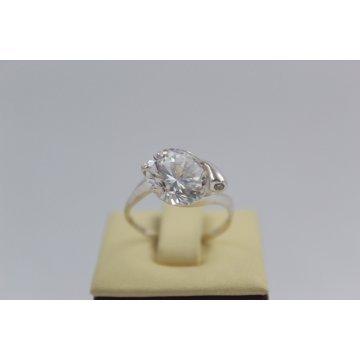 Дамски сребърен пръстен Кристалин 2849