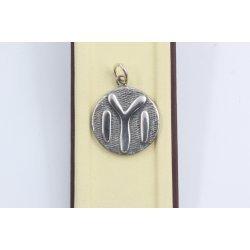 Сребърен медальон Тангра 2882